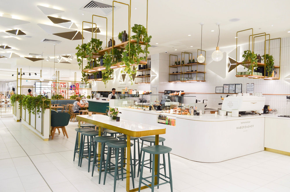 Haberdasher Cafe Melbourne Debenhams
