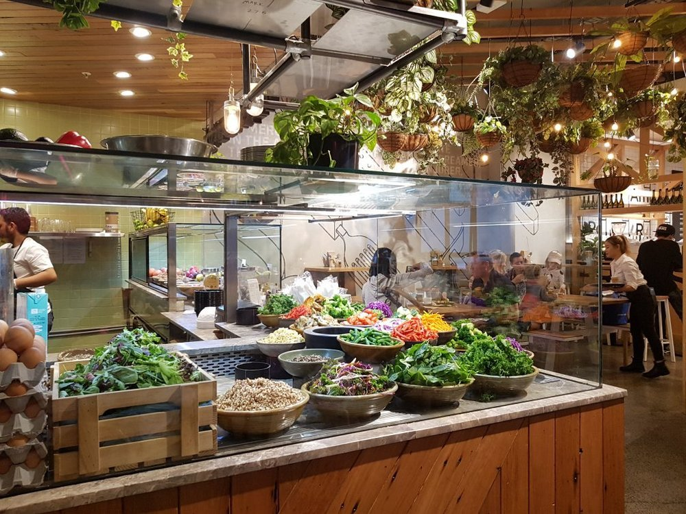 Merchants of Ultimo  situated in Broadway Shopping Centre in Glebe Sydney - a food collective servicing the centre and surrounds   image via TripAdvisor