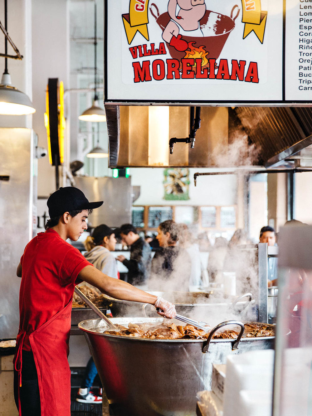 Cooking up a street-food storm at Grand Central Market, LA  image via Life and Thyme