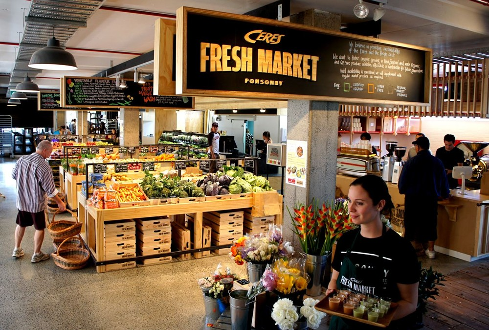 Fresh & Local Produce at Ceres Fresh Market in Ponsonby Central, Auckland (Credit:  Localist )