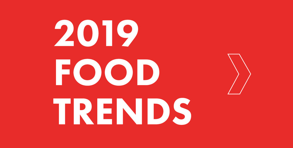 2017 food trends flyer.