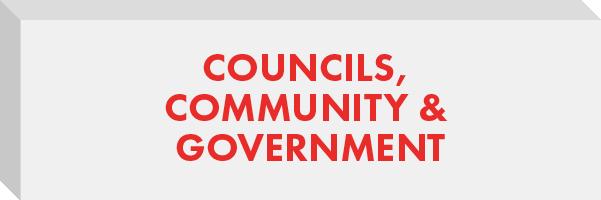 Councils, Community & Government