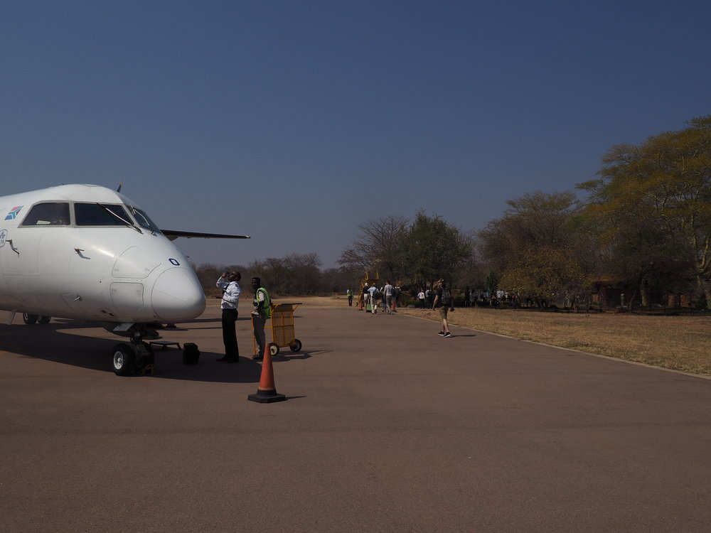 Hoedspruit - Airplane.JPG
