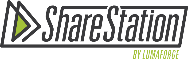 sharestation by lumaforge logo
