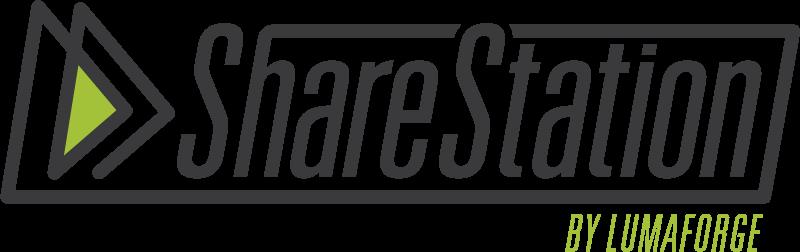sharestation by lumaforge logo