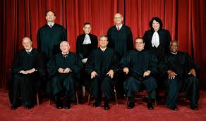 The nine justices of the Supreme Court