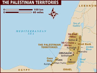The Gaza Strip and West Bank
