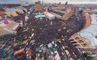 Protests in Ukraine's Maidan Square 2013