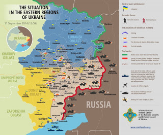 The military situation in Eastern Ukraine