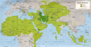 Sunni and Shia Populations in the Middle East