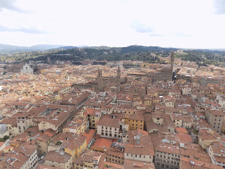 Our view from the Duomo in Florence