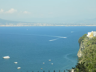 The Bay of Naples near Sorrento