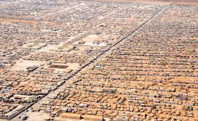 The Zaatari Camp In Jordan
