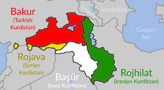 The Many Divisions Of Kurdistan