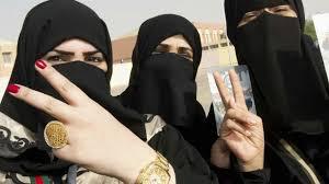 Saudi Women Registering To Vote