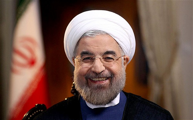 Hassan Rouhani, wait didn't he star in Mr. Holland's Opus?