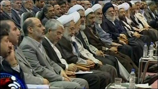 Iran's Guardian Council, seen here looking very old and male