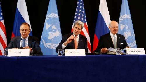 Look at all the Syrians in these peace talks!