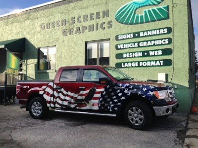 If you didn't want to get attacked, you shouldn't have dressed your truck like that!