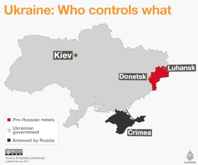 Yup, still a war going on in Ukraine.