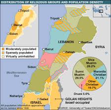 Lebanon's religious breakdown