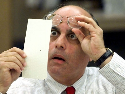 Remember when hanging chads were the worst election problem?