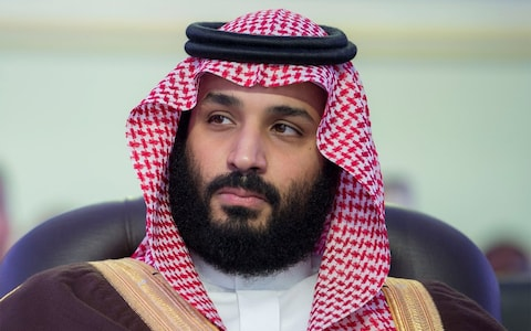Muhammad bin Salman, heir apparent to the Kingdom of Saudi Arabia.