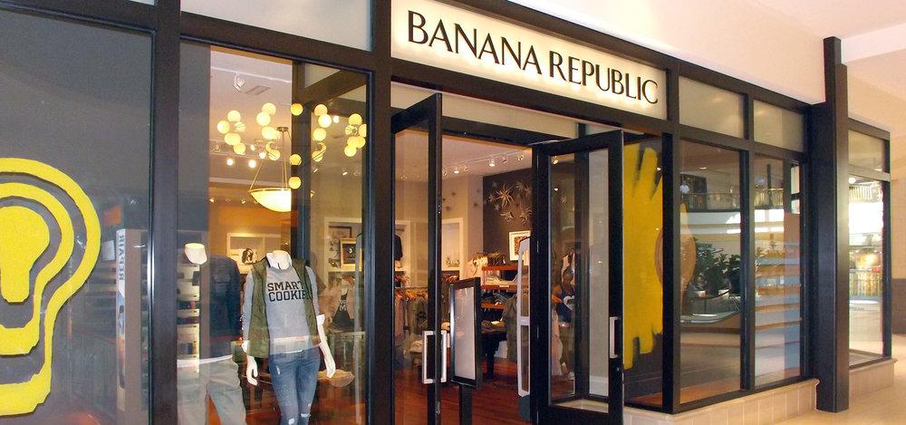Not that Banana Republic!