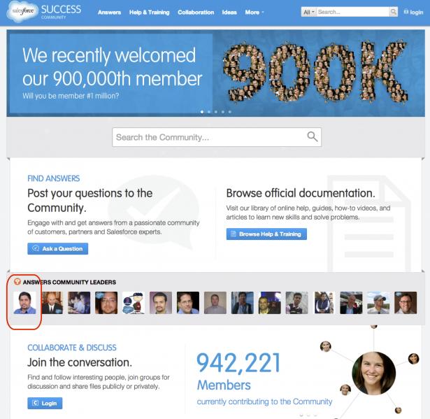 Screenshot of Salesforce.com