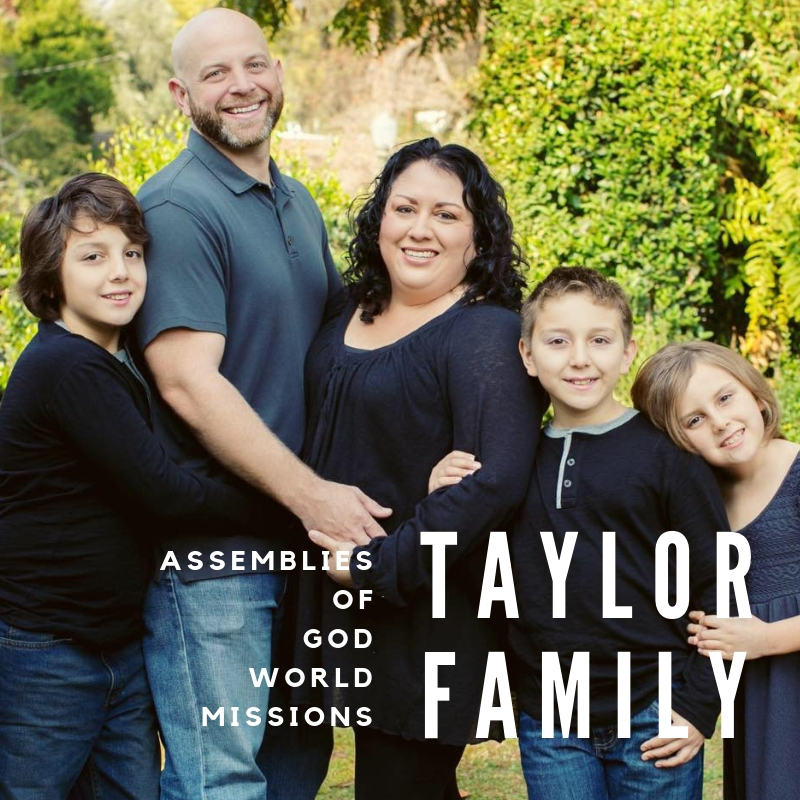 Copy of Paso Robles Church Taylor Family Missions