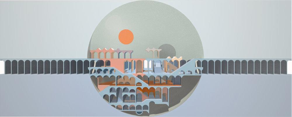 SAA. Studio Adrian Aguirre – Delirious Landscape