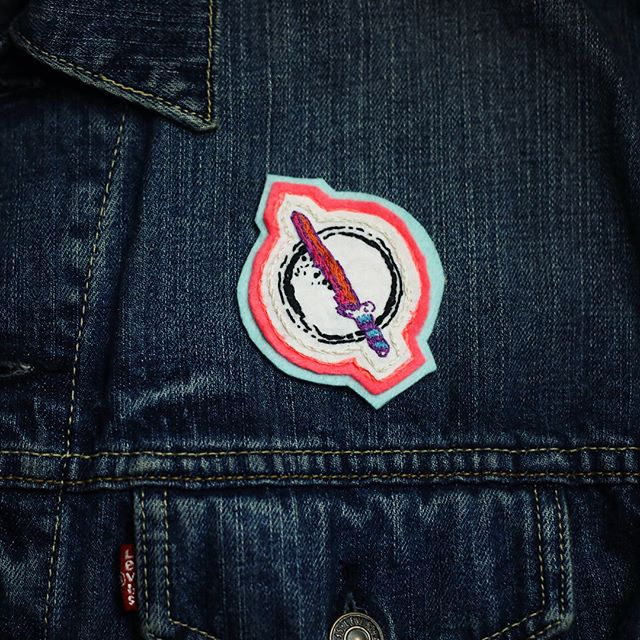 Having trouble finding something awesome and personal for your babe for the quickly approaching love holiday?  Maybe you just need some patches sewn on.  I've got you covered.