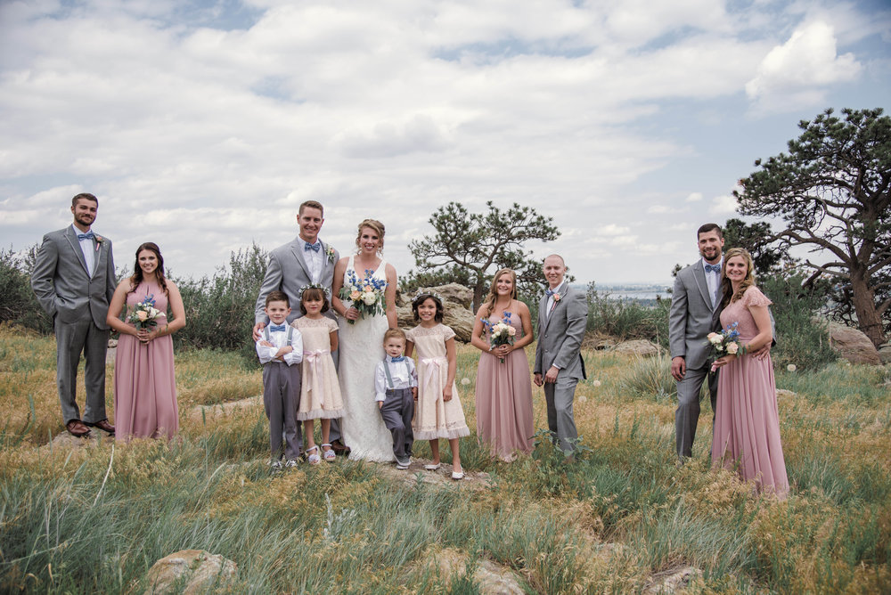 wedding party portraits, rustic wedding details, colorado wedding, colorado wedding photographer, denver wedding photographer, downtown denver wedding photographer, rocky mountain wedding photographer, intimate colorado wedding photographer, mountain elopement photographer