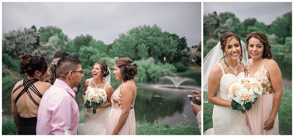 wedding party portraits, Baldoria on the water wedding, Colorado wedding photographer, denver wedding photographer, intimate colorado wedding photographer, downtown denver wedding photographer,