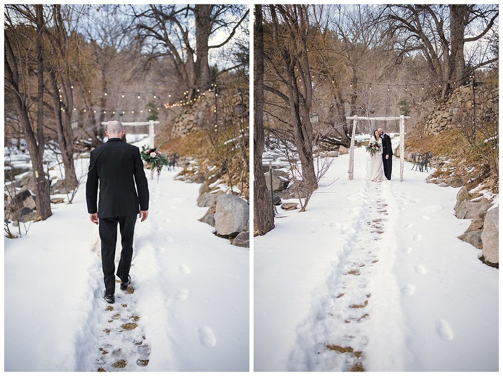 Bride and Groom portraits along river, Winter wedding in Boulder, Maroon and Navy wedding, Boulder Creek, Wedgewood on Boulder Creek, Rocky mountain adventure elopement, colorado wedding photographer, denver wedding photography, denver elopement photographer, colorado elopement photographer, Rocky Mountain Adventure Elopements, looks like film colorado, best wedding photographer colorado, best wedding photographer denver, downtown denver wedding, downtown wedding photographer, colorado photographer, denver photographer, rocky mountains, colorado wedding, denver wedding, couples portraits wedding, colorful wedding, love couples wedding photos, romantic wedding photos, fine art denver photographer, fine art colorado photographer,