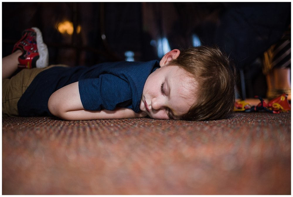 kid asleep at wedding, YMCA Snow Mountain Wedding, Rocky Mountain Wedding Photographer, Colorado Wedding Photographer, Colorado Elopement Photographer, Denver Wedding Photographer