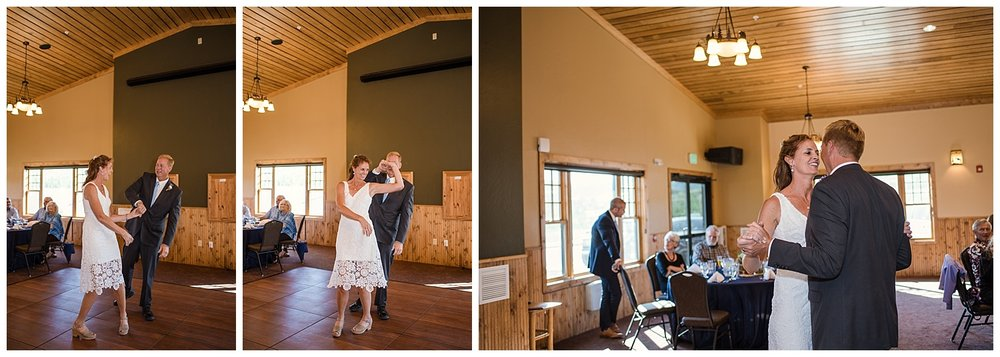 first dance at wedding, nYMCA Snow Mountain Wedding, Rocky Mountain Wedding Photographer, Colorado Wedding Photographer, Colorado Elopement Photographer, Denver Wedding Photographer