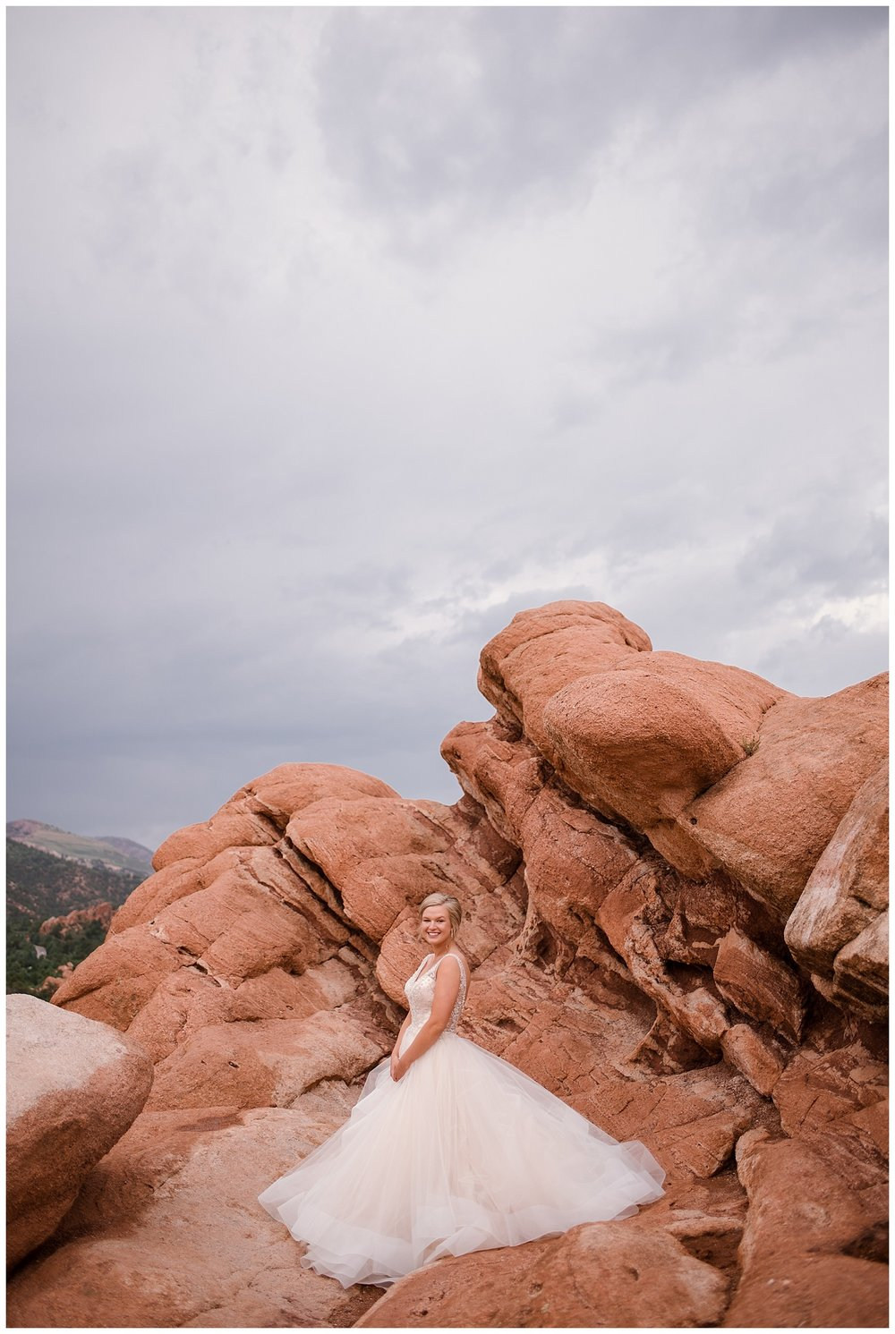 Military Wedding, bride and groom, navy suit groom, dress blues groom, bride alone tulle dress GOTG, bridal party, romantic portraits at garden of the gods, bride and groom at garden of the gods, Colorado Wedding Photographer, Denver Wedding Photographer, Denver Elopement Photographer, Colorado Elopement Photographer, Rocky Mountain Wedding Photographer, Downtown Denver Photographer,