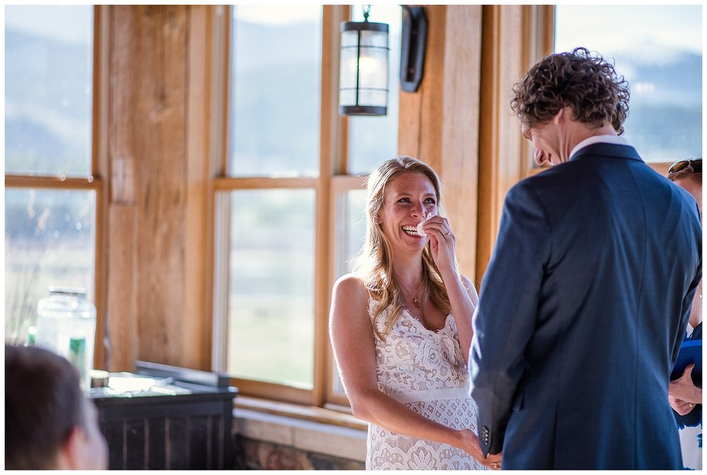 emotional elopement ceremony, colorado wedding photographer, denver wedding photographer, colorado elopement photographer, denver elopement photographer, rocky mountain photographer