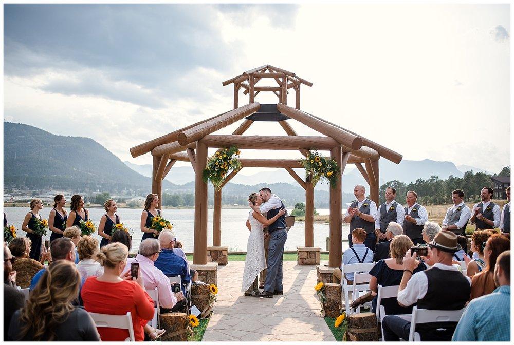 wedding ceremony at estes park resort, rocky mountain elopement photographer, rocky mountain wedding photographer, colorado wedding photographer, Estes Park wedding photographer