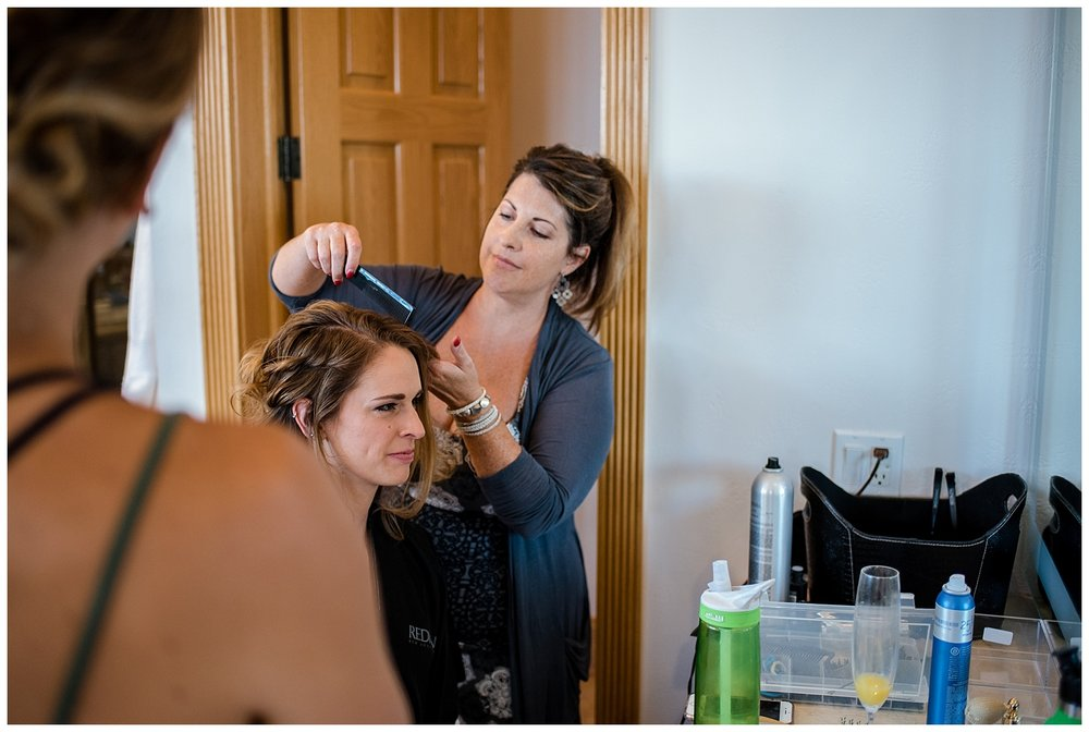 bride getting ready at Beaver Ranch in Conifer Colorado, Colorado Wedding Photographer, Rocky Mountain Wedding Photographer, Intimate Colorado Wedding Photographer