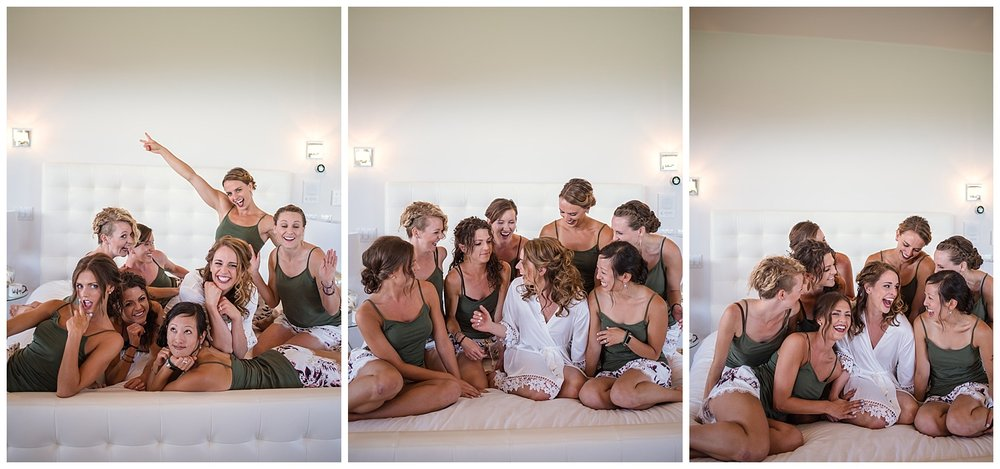 bridesmaids getting ready at Beaver Ranch in Conifer Colorado, Colorado Wedding Photographer, Rocky Mountain Wedding Photographer, Intimate Colorado Wedding Photographer