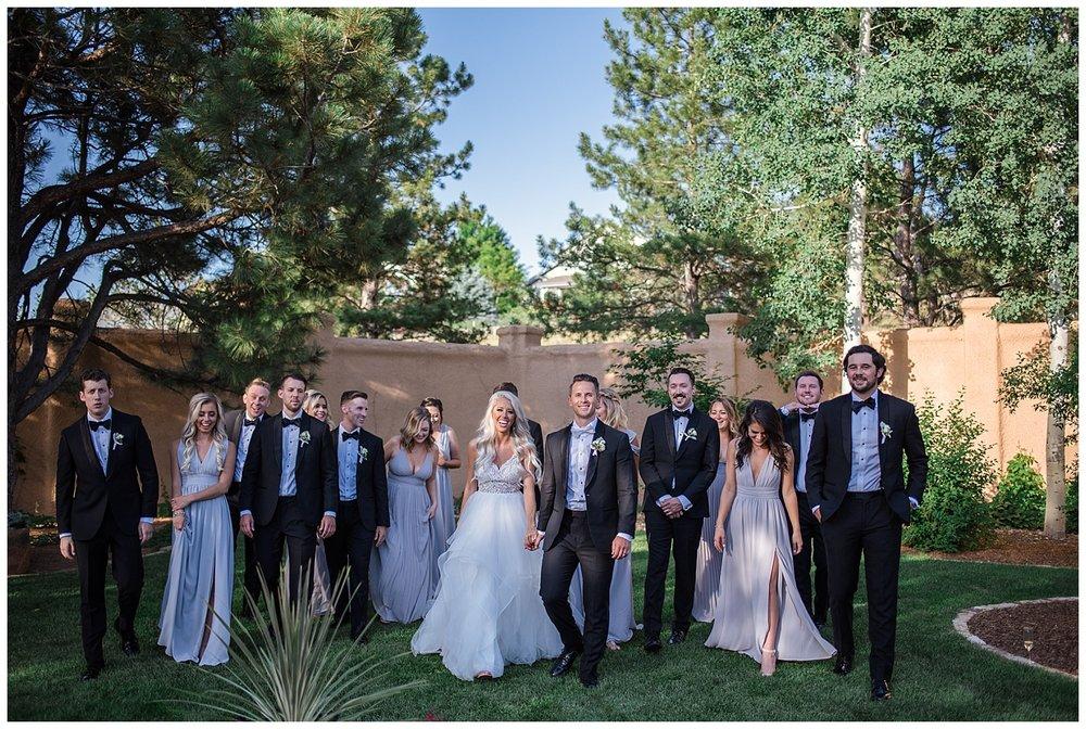 formal wedding party portraits at Villa Parker, Colorado Wedding Photographer, Denver Wedding Photographer, Rocky Mountain Photographer, Downtown Denver photographer