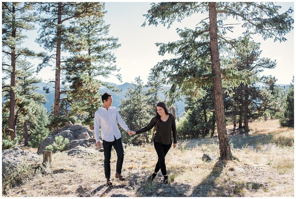 Mt Falcon Engagement Session, Colorado Wedding Photographer, Denver Engagement Session, Denver Engagement Photographer, Denver Wedding Photographer, Mountain Engagement Photography,