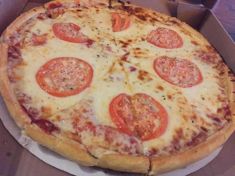 When you want garlicky crust & never ending cheese... - Wig & Pen Pizza1220 US-6, Iowa City, IA(319) 354-2767*Personal Favorite - Flying tomato (pictured)