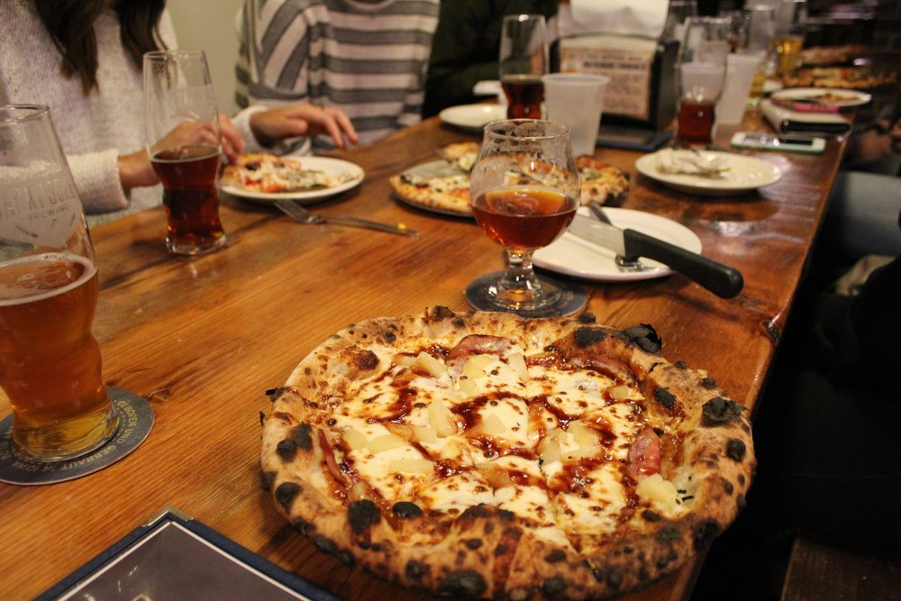 When you want a craft beer to go with it... - Back Pocket Brewery903 Quarry Rd, Coralville, IA(319) 449-3700*Personal Favorite - Flambe Pizza