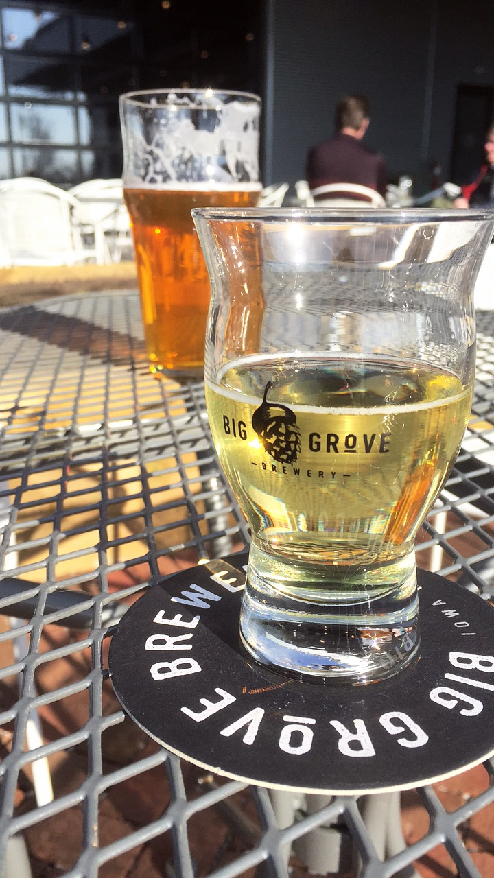 When you want a craft beer in one hand & a ping pong paddle in the other... - Big Grove Brewery1225 S Gilbert St, Iowa City, IA(319) 354-2687
