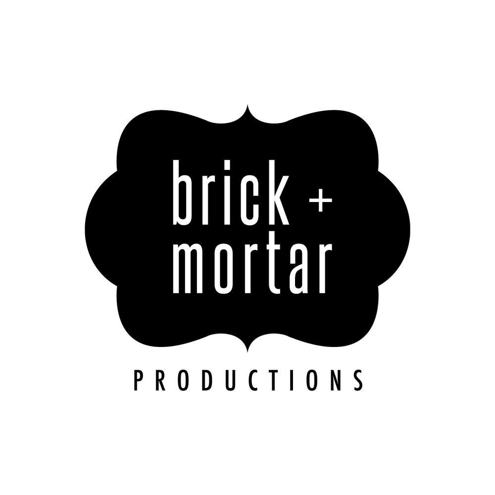 Salt + Sass Design: Brick + Mortar Productions Logo