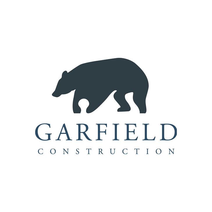 Salt + Sass Design: Garfield Construction Logo