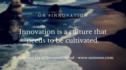 Cultivating innovation culture